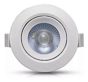 SPOT LED 3W EMBUTIR REDONDO 6400K - FORLUZ