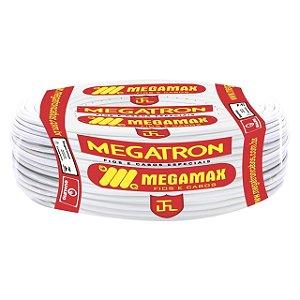 Cabo 2,5mm Flexivel Branco 750V - Megatron