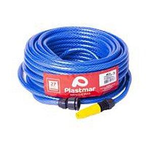 """Mangueira Parede Dupla Azul 3/4""""X2,0mm (57001) - Plastmar"""