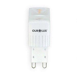 LAMPADA LED G9 3W 2700K DIMERIZAVEL (20167) OUROLUX