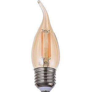 LAMPADA LED FILAMENTO C35 4W E27 AMBAS (11863) SORTELUZ