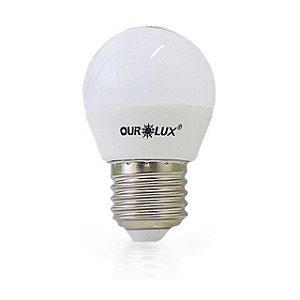 LAMPADA SUPERLED S45 5W BOLINHA BIV 3000K - MB