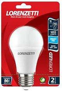LAMPADA LED BULBO A60 10W 6500K - LORENZETTI