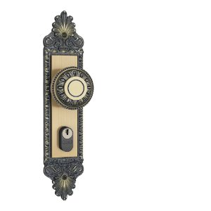 Fechadura 803/04 Espelho Maçaneta Colonial (G) Externa - Stam