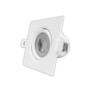 SPOT LED MR16 EMB QUADRADO 4,5W-350LM 2700K INTRAL