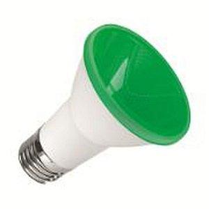 LAMPADA LED E27 PAR20 6W VERDE SORTELUZ
