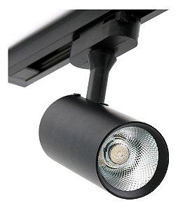 SPOT P/ TRILHO ABS+PC 5W 350LM LED 3.000K PRETO (32053001) - BLUMENAU