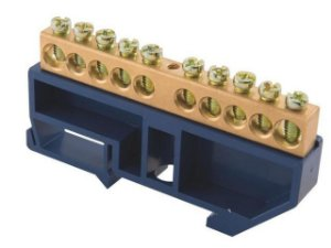 BARRA NEUTRO DIN/IEC 10 LIGACOES (56300121) TRAMONTINA