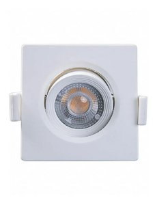 SPOT LED MR11 QUADRADO 3W 3000K - MB