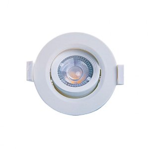 SPOT LED MR11 REDONDO 3W 3000K - MB