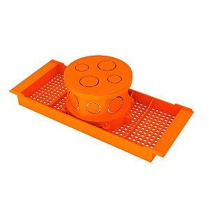 Caixa Para Laje Com Suporte 30mm Octogonal (16460) - Amanco