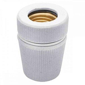 Soquete De Porcelana Tempo E27 FN03 Liege