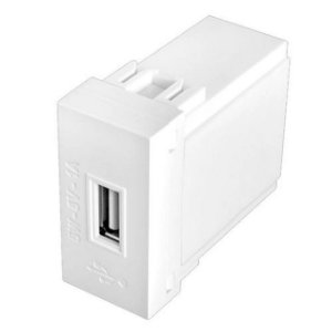 MODULO HABITAT TOMADA USB BIVOLT 5W - FAME