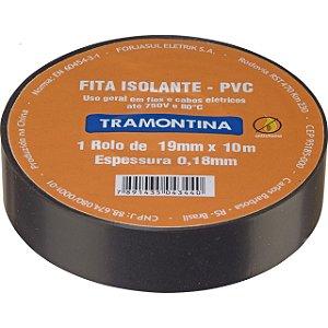 FITA ISOLANTE 10M X 0,18MM X 19MM PT TRAMONTINA