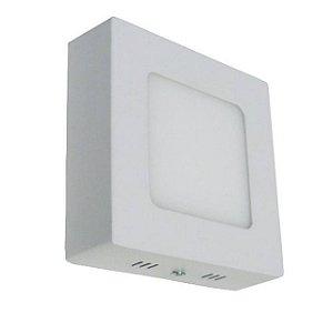 PAINEL LED 6W QUADRADO SOBREPOR 6500K - JMX