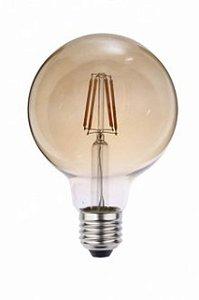 """LAMPADA LED E27 4W/BI-VOLT """"GLOBO PEQ"""" G95X138MM FILAMENTO (0327000) BLUMENAU"""