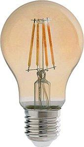 LAMPADA LED BULBO RETRO PERA A60 E27 2200K4W BIVOLT- AVANT