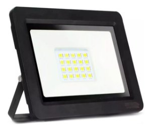 REFLETOR LED 30W  BRANCO QUENTE - JMX