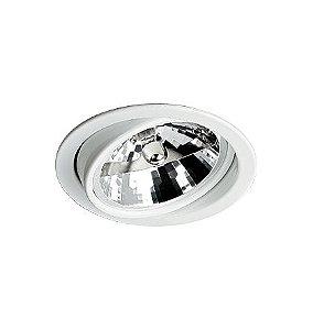 Spot De Embutir Redondo Para Lampada Halogena Ar111 NURU (46190) RE-1015 Revoluz