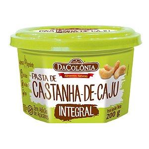 Pasta de Castanha de Caju Integral 200g