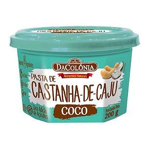 Pasta de Castanha de Caju com Coco 200g