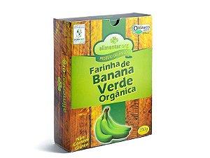 Farinha de Banana Verde Orgânica 250g Alimentar