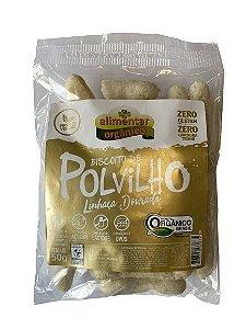Biscoito de Polvilho Orgânico Vegano com Linhaça 50g Alimentar