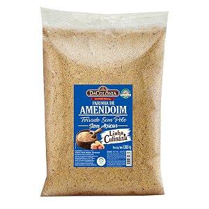 Farinha de Amendoim Torrado Sem Pele 1,005kg