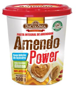 Amendo Power - Pasta Integral de Amendoim 500g