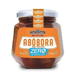 Doce de Abóbora Zero - 270g (Drenado: 125g)