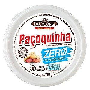 Paçoquinha Rolha Zero Açúcar 170g