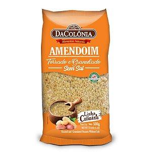 Amendoim torrado e Granulado Sem Sal 500g