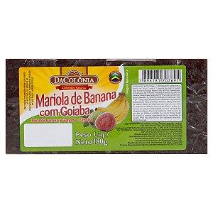Mariola de Banana com Goiaba - 180g