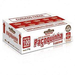 Paçoca Rolha Tradicional Caixa com 100un - 1,4kg