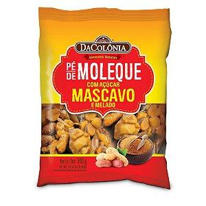 PÉ DE MOLEQUE COM AÇÚCAR MASCAVO E MELADO 300g