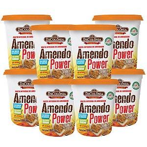 SUPER COMBO (Kit 08 un Amendo Power Crunchy Pasta de Amendoim com granulado 1,008Kg)