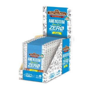 Kit 12 unidades Amendoim Doce Cri-Cri Pralinê Zero Açúcar 30g