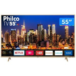 "Smart TV 4K LED 55"" Philco"