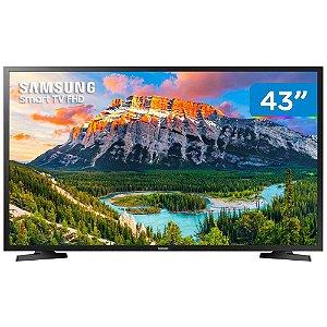 """Smart TV Full HD LED 43"""" Samsung Serie J5290 Orsay"""