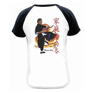 Camiseta Grife mestre Kim <L Kung Fu