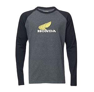Camiseta Manga Longa Honda Vintage TAM:P,M,G e GG