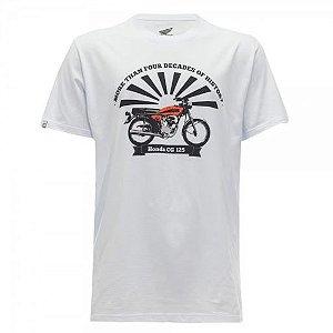 Camiseta Moto Honda CG125 Coleção Vintage TAM:P e M