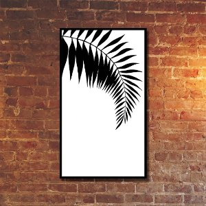 Quadro Decorativo Folha de Palmeira