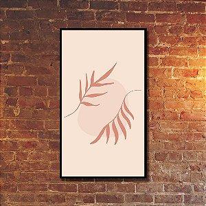 Quadro Decorativo Folhas Voadoras