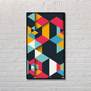 Quadro Decorativo Geometria Moderna
