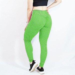 Legging TikTok Levanta Bumbum Push Up Disfarça Celulite Verde