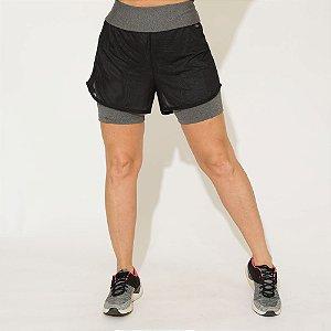 Shorts de Corrida Duplo