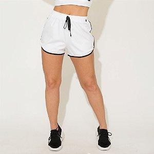 Shorts Canelado Jessi Branco