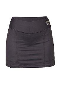 Saia Shorts Ketlyn Preto