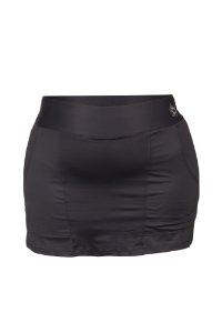 Saia Shorts Ketlyn Plus Size Preto